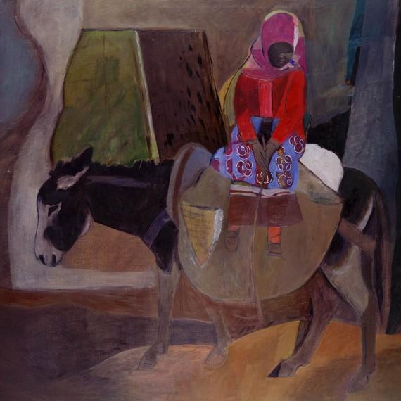 Bambina-Marocchina-2001-146-x-114-olio-su-tela