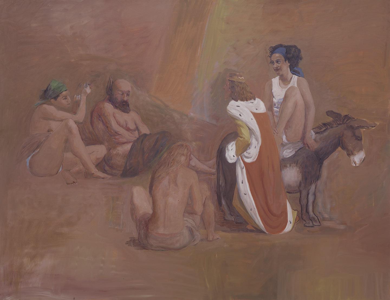 Il Re Mida e il Sileno