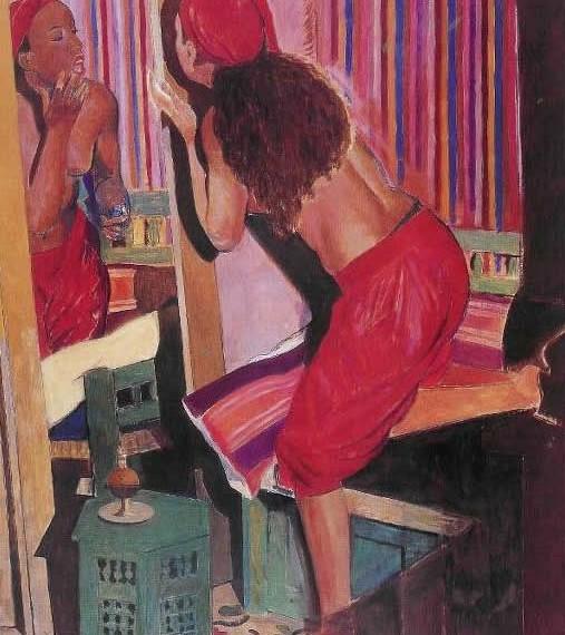 Il-rossetto,-2002,-cm-81x100