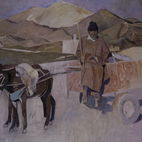 Marocchino,-2000-90x73-oliosutela