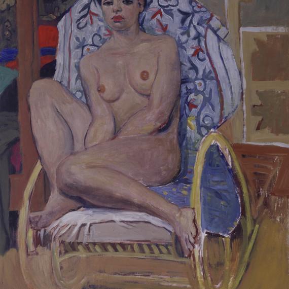 Silvia,-1999-60x71-olio-sutela