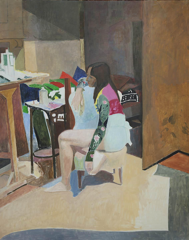 Ilaria nello studio