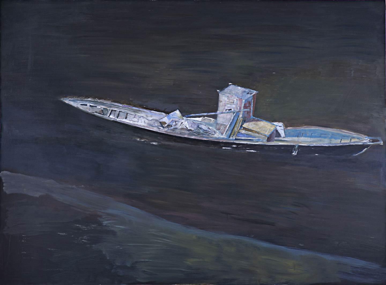 Il naufragio - imbarcazione arenata